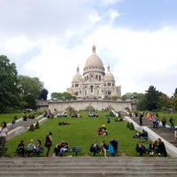 Photo taken at Basilique du Sacré-Cœur de Montmartre by Emily C. on 6/12/2013