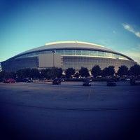 Photo taken at AT&T Stadium by Morgan L. on 7/28/2013