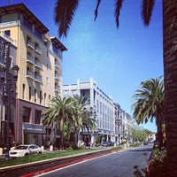 Photo taken at Santana Row by Mike D. on 4/14/2013