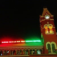 Photo taken at Chennai Central Sub Urban Station by Abdulla A. on 6/7/2013