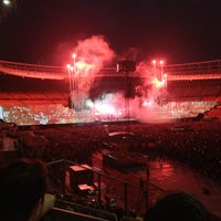 Photo taken at Ernst-Happel-Stadion by Heli on 8/24/2013