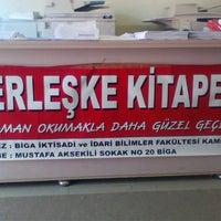Photo taken at Yerleşke Kitap Evi by Özlem T. on 9/26/2013