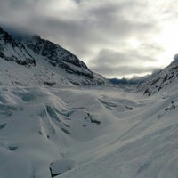 Photo taken at Les Grands Montets by Patrik S. on 1/14/2013