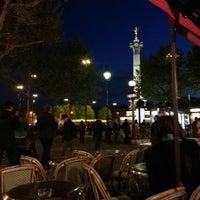Photo taken at Café Bastille by Naweb K. on 5/10/2013