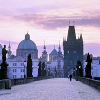 Photo taken at Charles Bridge by In Your Pocket on 6/11/2013