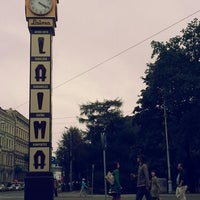Photo taken at Laimas Pulkstenis | Laima clock by Justs C. on 7/23/2013