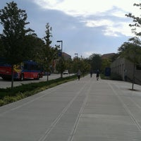 Photo taken at Wescoe Beach by Andy A. on 10/4/2016