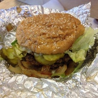 Photo taken at Five Guys by Person L. on 10/26/2013
