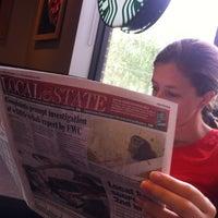 Photo taken at Starbucks by David H. on 10/6/2012