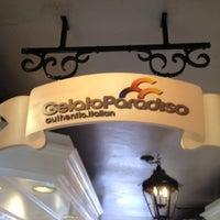Photo taken at Gelato Paradiso - Laguna Beach by Houman A. on 3/21/2012