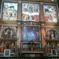 Photo taken at Chiesa di San Maurizio al Monastero Maggiore by Márcio A. on 8/11/2011