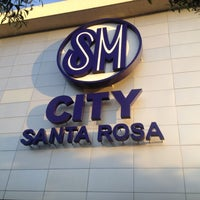 Photo taken at SM City Sta. Rosa by Jushua R. on 3/31/2012