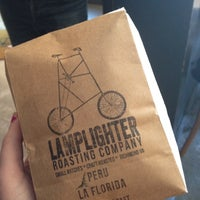 Photo taken at Lamplighter Roasting Co. by Amanda A. on 11/23/2012