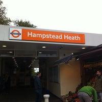 Photo taken at Hampstead Heath London Overground Station by Simon T. on 10/26/2014