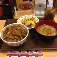Photo taken at すき家 品川東店 by Atsuhito S. on 5/12/2013