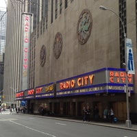 Photo taken at Radio City Music Hall by Y. Angela L. on 4/28/2013