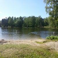 Photo taken at Bābelītes ezers by Oskars C. on 6/15/2013