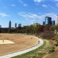 Photo taken at Piedmont Park by benjamin on 3/30/2013