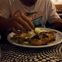Photo taken at D'KL Restaurant, Kampung Likas by yattie o. on 5/9/2014