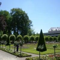 Photo taken at Jardin de l'Archevêché by Bourges T. on 4/26/2013