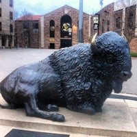 Photo taken at University of Colorado Boulder by Tim A. on 5/1/2013