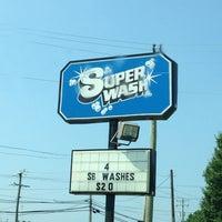 Photo taken at Super Wash by Christie C. on 6/22/2013