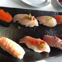 Photo taken at Sushi Noguchi by ryumie h. on 12/24/2015