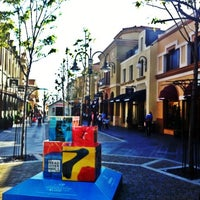 Photo taken at Las Rozas Village by Dani F. on 4/23/2013