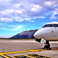 Photo taken at Dubrovnik Airport (DBV) by Joshua S. on 1/26/2013