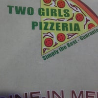 Photo taken at Two Girls Pizzeria by Manny R. on 5/13/2013
