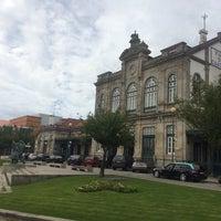 Photo taken at Estação Ferroviária de Viana do Castelo by Владимир К. on 9/14/2016