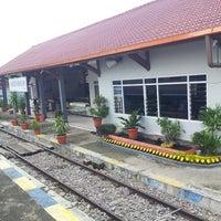 Photo taken at Stasiun Kedunggalar by Cak W. on 3/10/2013