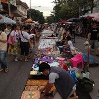Photo taken at Chiangmai Walking Street by wittaya b. on 10/21/2012