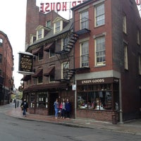 Photo taken at Union Oyster House by Tanya S. on 5/8/2013