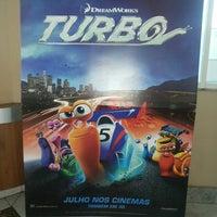 Photo taken at Cine Araújo by Vitor L. on 7/28/2013