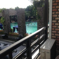 Photo taken at Mesra Hotel Swimming Pool by Kate K. on 5/19/2013