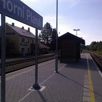 Photo taken at Železniční stanice Horní Planá by Daniel F. on 8/11/2013