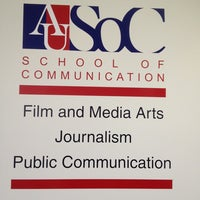 Photo taken at AU – School of Communication (SOC) by Paul B. on 6/10/2013