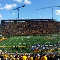 Photo taken at Faurot Field at Memorial Stadium by Brent H. on 10/27/2013