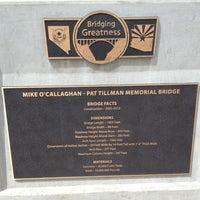 Photo taken at Mike O'Callaghan-Pat Tillman Memorial Bridge by Andrey R. on 6/26/2013