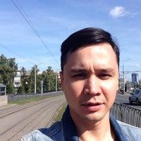 Photo taken at Трамвайная остановка «ДК Химиков» by Albert U. on 9/13/2015