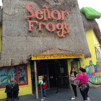 Photo taken at Señor Frog's by Brenda C. on 5/5/2013