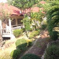 Photo taken at Bounty Resort Koh Phangan by Alexander K. on 4/7/2014
