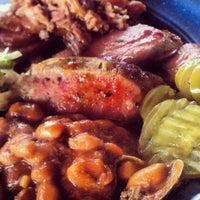 Photo taken at Sonny Bryan's Smokehouse by Tori S. on 12/26/2012