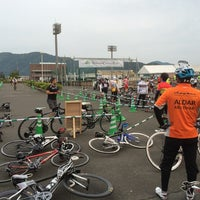 Photo taken at 若狭町役場 三方庁舎 by Shoji T. on 5/24/2014