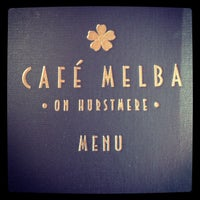 Photo taken at Café Melba by May L. on 9/6/2013