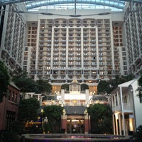 Photo taken at Gaylord National Resort & Convention Center by Danajjar on 7/9/2013