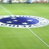 Photo taken at Estádio Joaquim Henrique Nogueira (Arena do Jacaré) by Joao N. on 6/5/2013