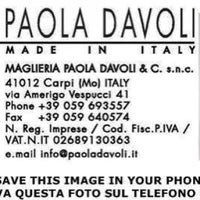 Photo taken at Maglieria Paola Davoli & C. SNC by Fabrizio S. on 10/3/2013
