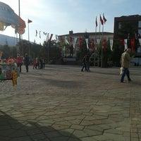 Photo taken at Cumhuriyet Meydanı by Ismail B. on 5/1/2013